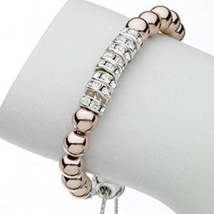 Rondel Bracelet Adorned with Swarovski Elements